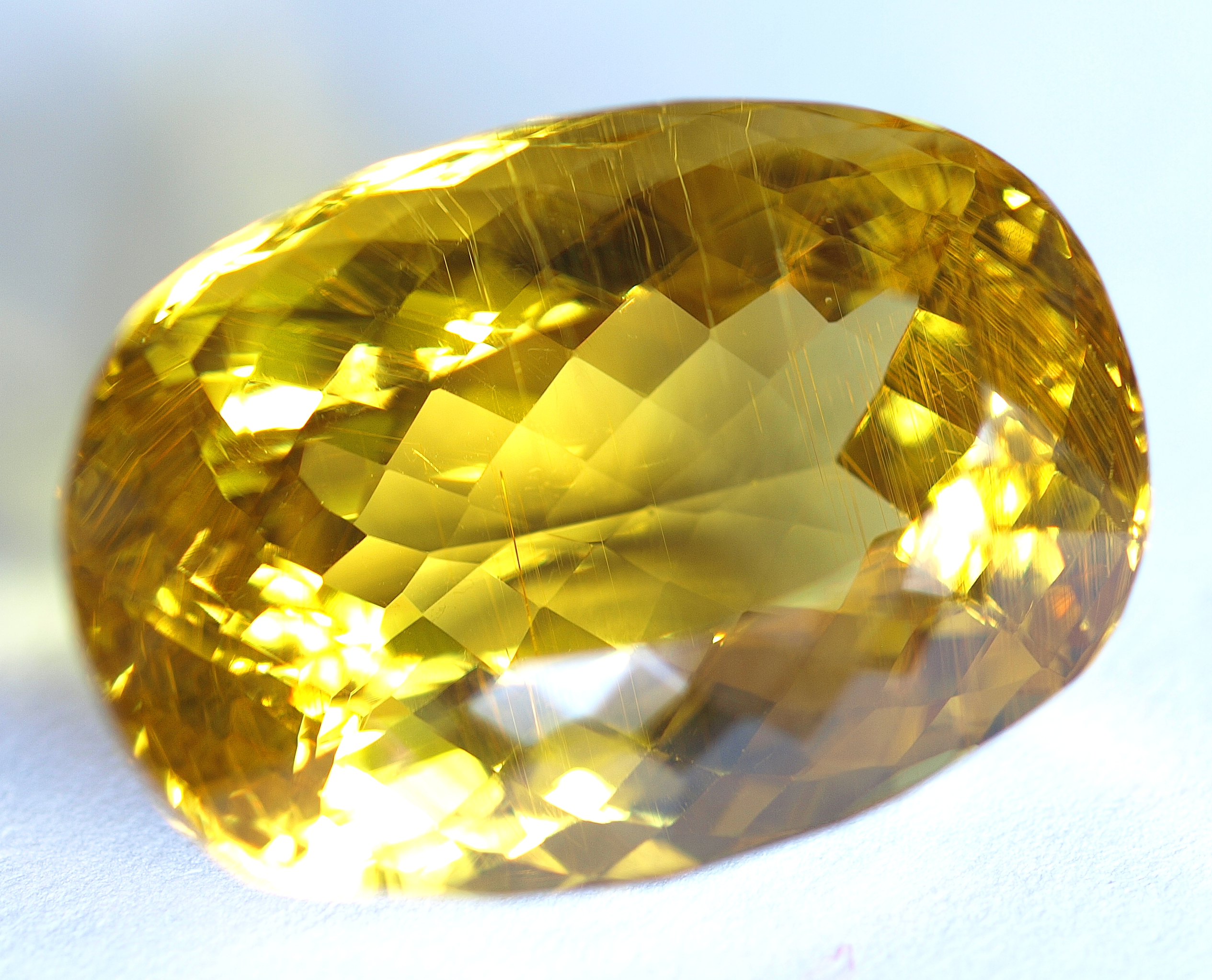 sapphire cushion rubyvale cut gallery yellow gem cutting facetting golden