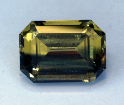 Natural untreated Yellow Sapphire with Blue Stripe