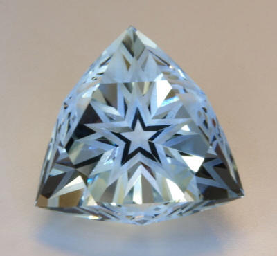 Aquamarine Tri-Star Halo Cut Try Finding one like this?